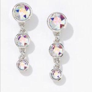 -Fizzy Earrings aurore boreale Swarovski BNIB